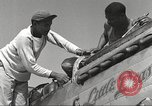 Image of Ground crewmwn servicing P-51s of the 332nd Fighter Group Termoli Italy, 1944, second 20 stock footage video 65675062602