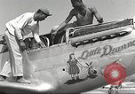 Image of Ground crewmwn servicing P-51s of the 332nd Fighter Group Termoli Italy, 1944, second 21 stock footage video 65675062602