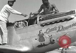 Image of Ground crewmwn servicing P-51s of the 332nd Fighter Group Termoli Italy, 1944, second 23 stock footage video 65675062602