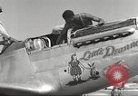 Image of Ground crewmwn servicing P-51s of the 332nd Fighter Group Termoli Italy, 1944, second 28 stock footage video 65675062602