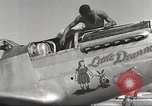 Image of Ground crewmwn servicing P-51s of the 332nd Fighter Group Termoli Italy, 1944, second 29 stock footage video 65675062602