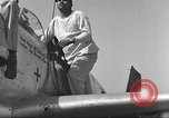 Image of Ground crewmwn servicing P-51s of the 332nd Fighter Group Termoli Italy, 1944, second 33 stock footage video 65675062602
