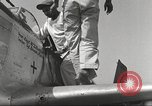 Image of Ground crewmwn servicing P-51s of the 332nd Fighter Group Termoli Italy, 1944, second 36 stock footage video 65675062602