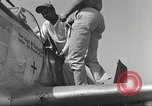 Image of Ground crewmwn servicing P-51s of the 332nd Fighter Group Termoli Italy, 1944, second 37 stock footage video 65675062602