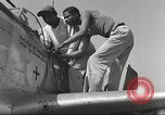 Image of Ground crewmwn servicing P-51s of the 332nd Fighter Group Termoli Italy, 1944, second 40 stock footage video 65675062602