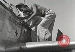 Image of Ground crewmwn servicing P-51s of the 332nd Fighter Group Termoli Italy, 1944, second 42 stock footage video 65675062602