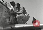 Image of Ground crewmwn servicing P-51s of the 332nd Fighter Group Termoli Italy, 1944, second 48 stock footage video 65675062602