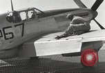 Image of Ground crewmwn servicing P-51s of the 332nd Fighter Group Termoli Italy, 1944, second 49 stock footage video 65675062602