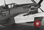 Image of Ground crewmwn servicing P-51s of the 332nd Fighter Group Termoli Italy, 1944, second 50 stock footage video 65675062602
