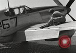 Image of Ground crewmwn servicing P-51s of the 332nd Fighter Group Termoli Italy, 1944, second 51 stock footage video 65675062602