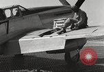 Image of Ground crewmwn servicing P-51s of the 332nd Fighter Group Termoli Italy, 1944, second 52 stock footage video 65675062602
