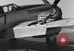 Image of Ground crewmwn servicing P-51s of the 332nd Fighter Group Termoli Italy, 1944, second 53 stock footage video 65675062602