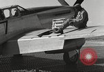 Image of Ground crewmwn servicing P-51s of the 332nd Fighter Group Termoli Italy, 1944, second 56 stock footage video 65675062602