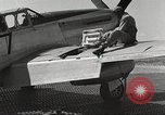 Image of Ground crewmwn servicing P-51s of the 332nd Fighter Group Termoli Italy, 1944, second 57 stock footage video 65675062602