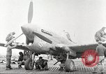 Image of 99th Pursuit Squadron Tuskegee Airmen Orsogna Italy, 1943, second 35 stock footage video 65675062605