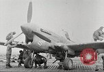 Image of 99th Pursuit Squadron Tuskegee Airmen Orsogna Italy, 1943, second 36 stock footage video 65675062605