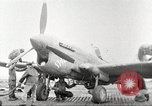 Image of 99th Pursuit Squadron Tuskegee Airmen Orsogna Italy, 1943, second 40 stock footage video 65675062605