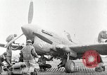 Image of 99th Pursuit Squadron Tuskegee Airmen Orsogna Italy, 1943, second 42 stock footage video 65675062605