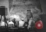 Image of 332nd Fighter Group pilots being briefed before mission Termoli Italy, 1944, second 30 stock footage video 65675062608