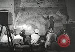 Image of 332nd Fighter Group pilots being briefed before mission Termoli Italy, 1944, second 35 stock footage video 65675062608