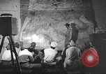 Image of 332nd Fighter Group pilots being briefed before mission Termoli Italy, 1944, second 42 stock footage video 65675062608