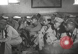 Image of 332nd Fighter Group pilots being briefed before mission Termoli Italy, 1944, second 56 stock footage video 65675062608