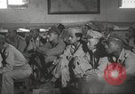 Image of 332nd Fighter Group pilots being briefed before mission Termoli Italy, 1944, second 57 stock footage video 65675062608