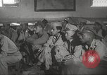 Image of 332nd Fighter Group pilots being briefed before mission Termoli Italy, 1944, second 58 stock footage video 65675062608
