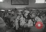 Image of 332nd Fighter Group pilots being briefed before mission Termoli Italy, 1944, second 60 stock footage video 65675062608
