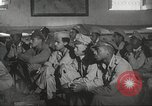 Image of 332nd Fighter Group pilots being briefed before mission Termoli Italy, 1944, second 61 stock footage video 65675062608