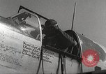 Image of 332nd Fighter Group P-51s take off on a mission Termoli Italy, 1944, second 58 stock footage video 65675062609