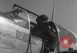 Image of 332nd Fighter Group P-51s take off on a mission Termoli Italy, 1944, second 59 stock footage video 65675062609