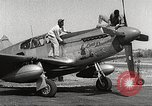 Image of Ground Crewmen of 332nd Fighter Group maintain P-51s Termoli Italy, 1944, second 2 stock footage video 65675062615