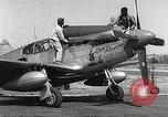 Image of Ground Crewmen of 332nd Fighter Group maintain P-51s Termoli Italy, 1944, second 4 stock footage video 65675062615