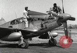 Image of Ground Crewmen of 332nd Fighter Group maintain P-51s Termoli Italy, 1944, second 5 stock footage video 65675062615