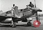 Image of Ground Crewmen of 332nd Fighter Group maintain P-51s Termoli Italy, 1944, second 6 stock footage video 65675062615
