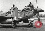 Image of Ground Crewmen of 332nd Fighter Group maintain P-51s Termoli Italy, 1944, second 7 stock footage video 65675062615