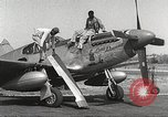 Image of Ground Crewmen of 332nd Fighter Group maintain P-51s Termoli Italy, 1944, second 10 stock footage video 65675062615