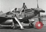 Image of Ground Crewmen of 332nd Fighter Group maintain P-51s Termoli Italy, 1944, second 11 stock footage video 65675062615