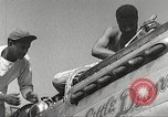 Image of Ground Crewmen of 332nd Fighter Group maintain P-51s Termoli Italy, 1944, second 13 stock footage video 65675062615