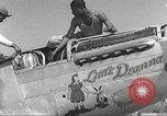 Image of Ground Crewmen of 332nd Fighter Group maintain P-51s Termoli Italy, 1944, second 24 stock footage video 65675062615