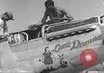 Image of Ground Crewmen of 332nd Fighter Group maintain P-51s Termoli Italy, 1944, second 25 stock footage video 65675062615