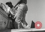 Image of Ground Crewmen of 332nd Fighter Group maintain P-51s Termoli Italy, 1944, second 37 stock footage video 65675062615
