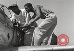 Image of Ground Crewmen of 332nd Fighter Group maintain P-51s Termoli Italy, 1944, second 38 stock footage video 65675062615