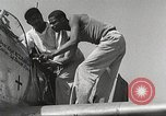 Image of Ground Crewmen of 332nd Fighter Group maintain P-51s Termoli Italy, 1944, second 39 stock footage video 65675062615