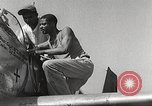 Image of Ground Crewmen of 332nd Fighter Group maintain P-51s Termoli Italy, 1944, second 48 stock footage video 65675062615