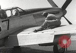 Image of Ground Crewmen of 332nd Fighter Group maintain P-51s Termoli Italy, 1944, second 49 stock footage video 65675062615