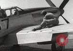 Image of Ground Crewmen of 332nd Fighter Group maintain P-51s Termoli Italy, 1944, second 50 stock footage video 65675062615