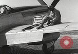 Image of Ground Crewmen of 332nd Fighter Group maintain P-51s Termoli Italy, 1944, second 52 stock footage video 65675062615