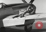 Image of Ground Crewmen of 332nd Fighter Group maintain P-51s Termoli Italy, 1944, second 55 stock footage video 65675062615